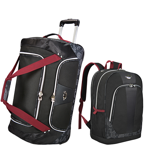 24-inch ROlling Duffel & 19-inch Backpack