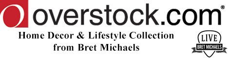 Live Bret Michaels at Overstock.com
